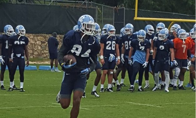 UNC Training Camp: Receivers Expected to be Loud–On and Off the Field