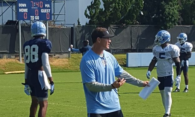 UNC Training Camp: Chizik's Presence Looms Large Over Schoettmer, Defense