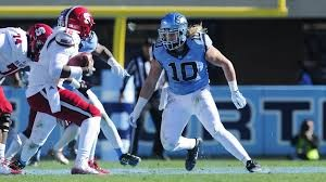 Jeff Schoettmer (10) and the UNC defense will attack USC quarterback Connor Mitch early and often. (UNC Athletics)
