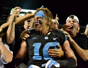 Senior Jeff Schoettmer has been a fixture in the Tar Heel defense throughout his entire career. (Elliot Rubin)