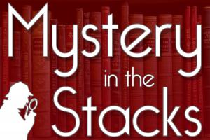 Mystery in the Stacks - Logo