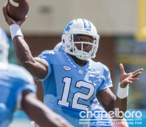 Marquise Williams lets one fly