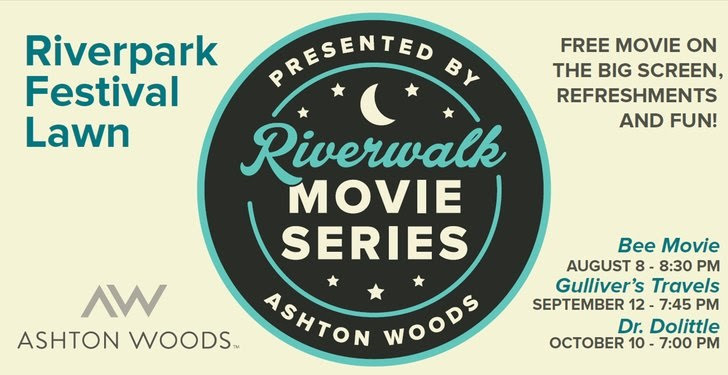 movies in the park banner