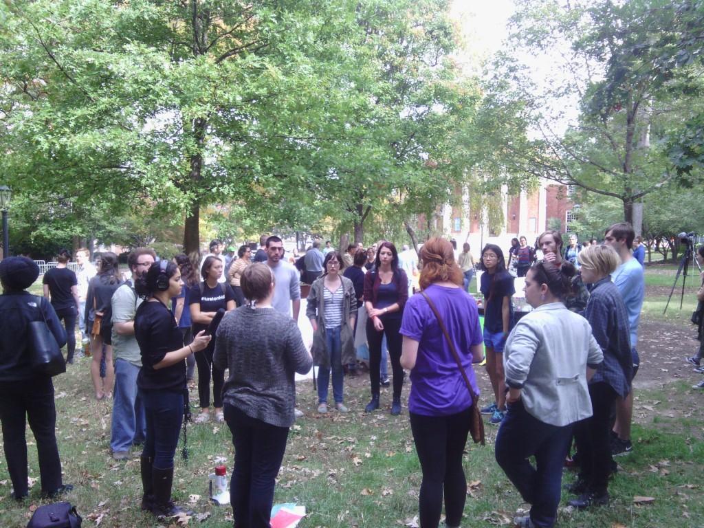 Confederate rally Silent Sam UNC 10/25/15 20