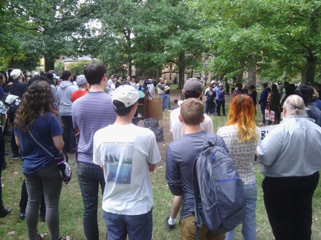 Confederate rally Silent Sam UNC 10/25/15 19