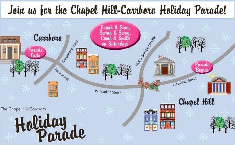 Chapel Hill-Carrboro Holiday Parade