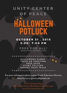 UCP Halloween Flyer