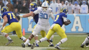 It'll be important for the Tar Heels to stay in their tackling lanes if they want to slow down the run. (UNC Athletics)