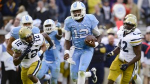 Marquise Williams left no doubt as to who should start at quarterback. (UNC Athletics)