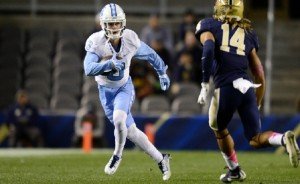 Ryan Switzer has spent his first three years in  Chapel Hill making quite a name for himself--both as a returner and a receiver. (UNC Athletics)