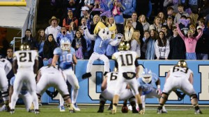 Kenan Stadium has been a tough place for opponents to play this season, with the Tar Heels winning all four of their home games in blowout fashion this year. (UNC Athletics)