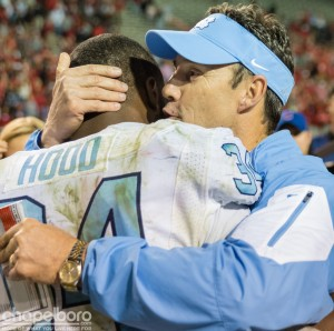 Carolina Football- Larry Fedora