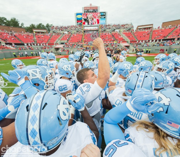 North Carolina Tar Heels vs NC State Wolfpack