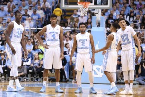 The Tar Heels will now get a week off before taking on the nation's No. 2 ranked team. (Todd Melet)