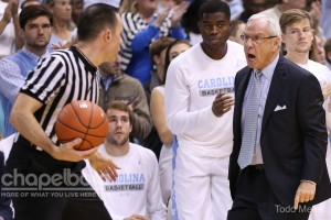 Roy Williams and company will be on the road for their next three games. (Todd Melet)