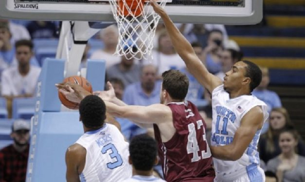 No. 1 Tar Heels Roll Past Guilford In Exhibition