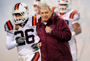 Frank Beamer's final home game will have the Hokies motivated. (Photo: SI.com)