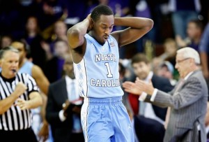 The Tar Heels now must regroup for a game Monday in Kansas City against Northwestern. (Photo: Charlie Neibergall/Associated Press)