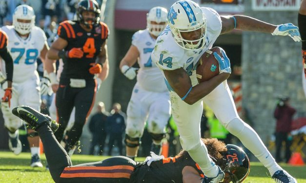 UNC Football Clinches Coastal Division In OT Thriller At Virginia Tech