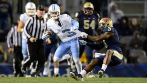 UNC's Ryan Switzer (3) will likely spend some time lining up against Cash this Saturday. (UNC Athletics)