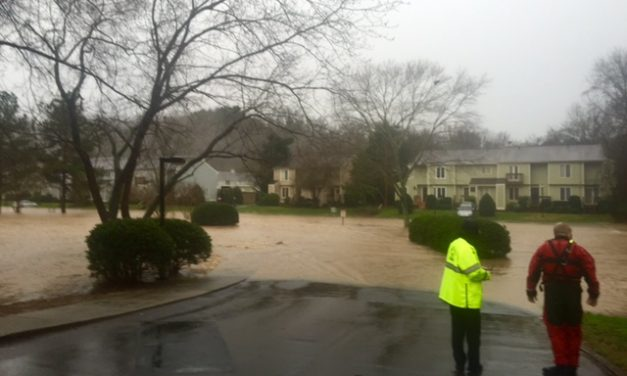 Residents Returning to Apartments After Chapel Hill Flooding Evacuations