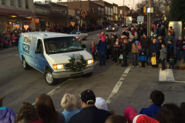 There was a great turnout for the parade!