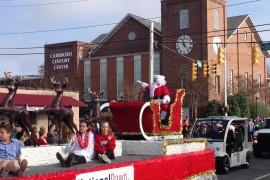 Santa Claus: 2015 Chapel Hill - Carrboro Holiday Parade