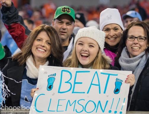 UNC vs. Clemson
