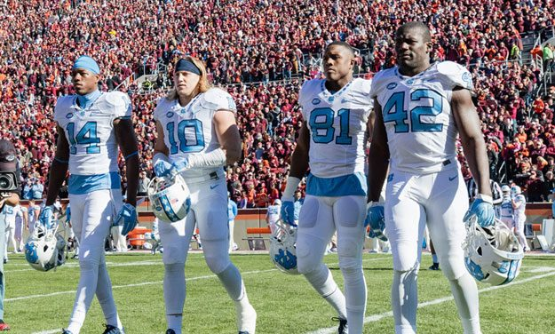 UNC Football's Fifth-Year Seniors Have Seen It All