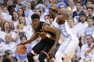 Maryland fought back in the second half, but UNC was able to close the deal. (Todd Melet)