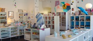 Ackland Art Museum Store. Photo via Emily Bowles.