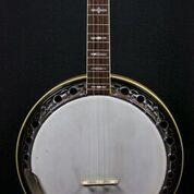 Stolen banjo. Photo via Burlington Police.