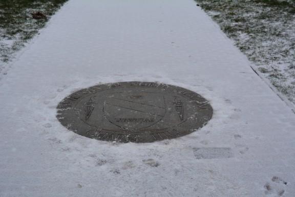 University of North Carolina snow