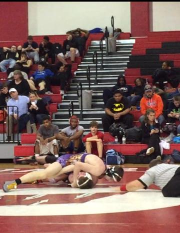 Dante Veltri Carrboro wrestling