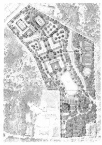 Site plan for American Legion property. Photo via Memorandum of Understanding.