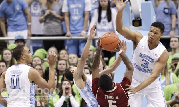 No. 2 UNC Suffocates Boston College as ACC Play Heats Up