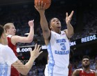 Kennedy Meeks' 23 points helped the Tar Heels get past their hated rivals. (Todd Melet)