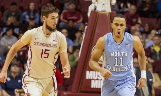 """That Was a Man's Night"": Johnson Leads No. 6 UNC Past FSU"