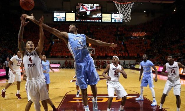 Tar Heels Grind Out a Win Over Virginia Tech, Could Move to No. 1