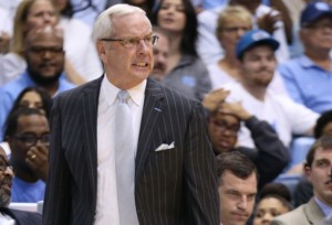UNC basketball head coach Roy Williams (Photo via Todd Melet).