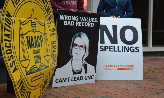 NAACP Requests Records Over Hiring of Margaret Spellings as UNC System President