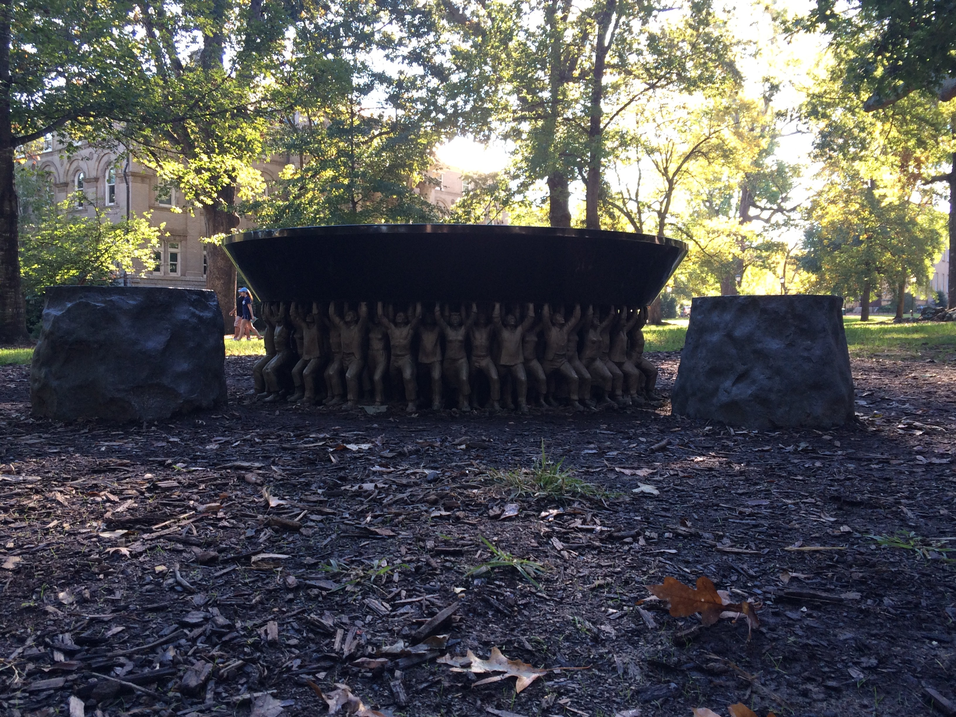 UNC Police: 'Permanent Marker and Urine' Used to Deface Unsung Founders Memorial