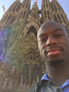 La Sagrada Família Barcelona (Photo via Marcus Ginyard)