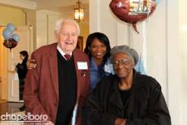 Robert Seymour, Cyndee Sims, Mildred Council