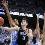 No. 20 Duke Stuns No. 5 UNC 74-73, Williams Apologizes