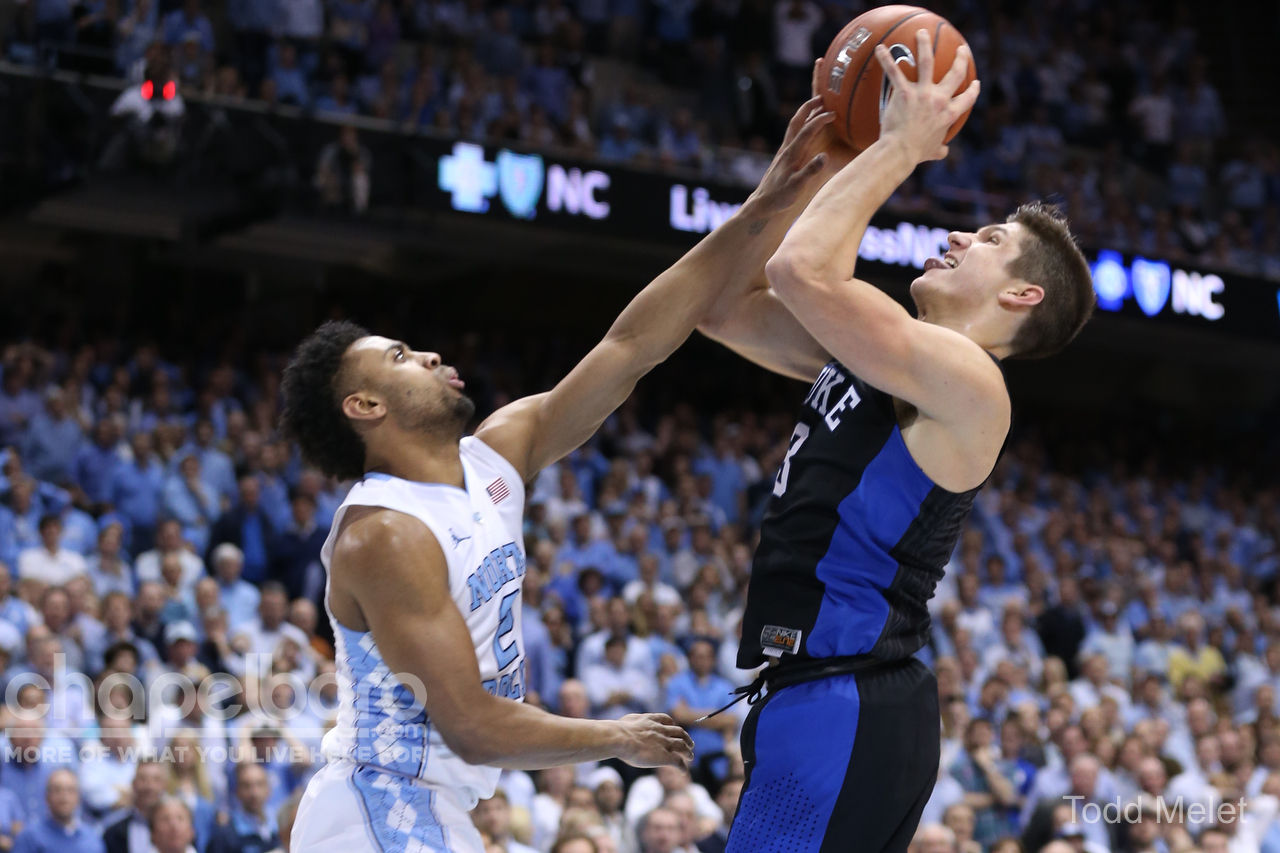 Tar Heels amp up 3-point production entering Duke game