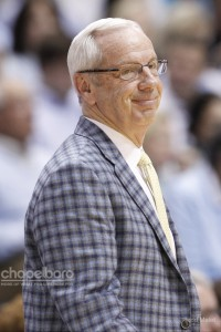 UNC head coach Roy Williams gave his players Thursday off to allow them time to mentally prepare for this game. (Todd Melet)