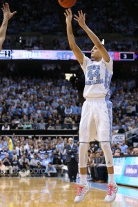 Justin Jackson scored 14 points on Sunday against Pittsburgh, and has 34 over his last two games. (Todd Melet)
