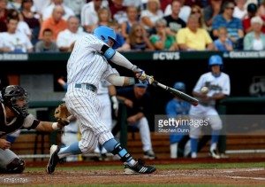 UCLA's Eric Filia drove in the game-winning run in the bottom of the 9th. (Getty Images file photo/Stephen Dunn)