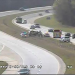 Accident on I-40 WB at Old 86 (MM 261)